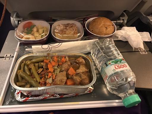 タイ国際航空・機内食